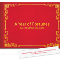 $9.99 A YEAR OF FORTUNES (WITHOUT THE COOKIES) BOOK -Perpetual Kid