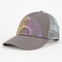 O'neill Wild Day Womens Trucker Hat Gray One Size For Women 26539811501