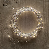 Twinkly Starry Lights - Diamond Lights on Silver Wire