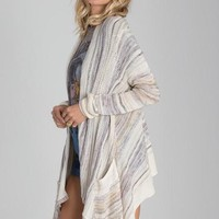Billabong - Beach Ramblin Cardigan | Pearl