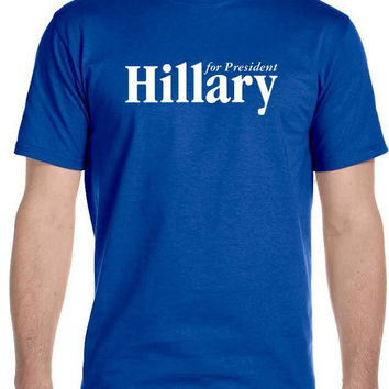 Hillary For President - Mens T-Shirt