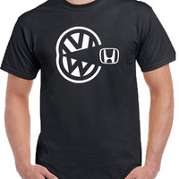 vw eating honda T-shirt