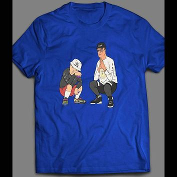 KING OF THE HILL HANK & BOBBY RAP INSPIRED T-SHIRT