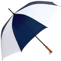 All-Weather GFUM60NWLT Elite Series Navy and White Auto Open Golf Umbrella, 60""