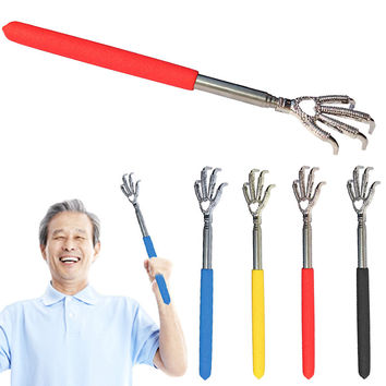 New Convenient Adjustable Eagle Claw Telescopic Ultimate Stainless Steel Massager Back Scratcher From 22 to 59cm