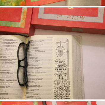 The Message Canvas Journaling Bible -Hardcover Bible - MSG Bible