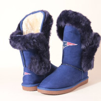 "New England Patriots Women's Cuce Official NFL ""Champions"" Boots"