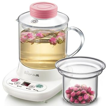 0.4L Heat Preservation Electric Kettle Flower Teapot Hot Tea Makers High Quality Electric Kettle Reservation