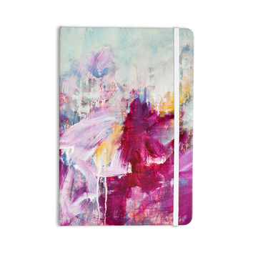 "Iris Lehnhardt ""Magenta"" Pink Paint Everything Notebook"