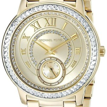 DCCKWA2 Michael Kors Women's Madelyn Gold-Tone Watch MK6287