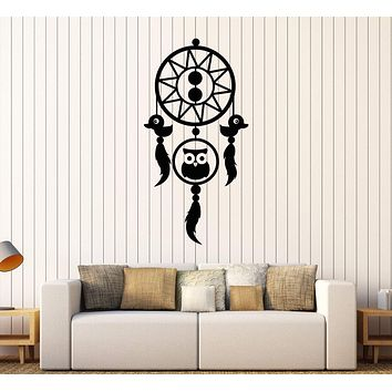 Vinyl Wall Decal Dream Catcher Nursery Animal Bedroom Kids Room Stickers Unique Gift (596ig)