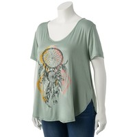 S.o. R.a.d. Collection by Awesomeness TV Dreamcatcher Graphic Tunic - Juniors' Plus, Size:
