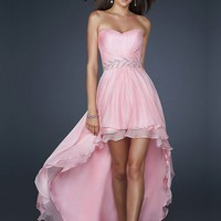 WowDresses — Attractive A-line Sweetheart Asymmetrical Prom Dress