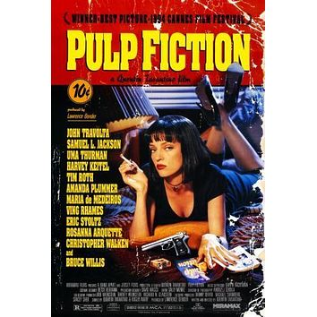 Pulp Fiction Movie Poster 11 inch x 17 inch poster