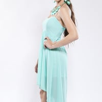 Gleaming Spring Dress - Mint