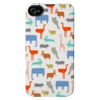 Agent 18 Slim Shield Zoo for iPhone® - White