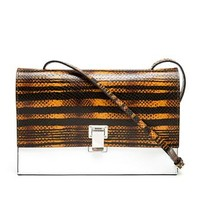 PROENZA SCHOULER | Python Embossed Lunch Bag | Browns fashion & designer clothes & clothing
