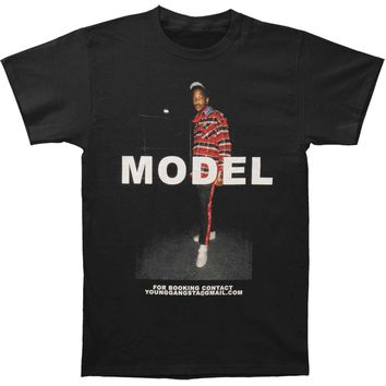 YG Men's  Model T-shirt Black