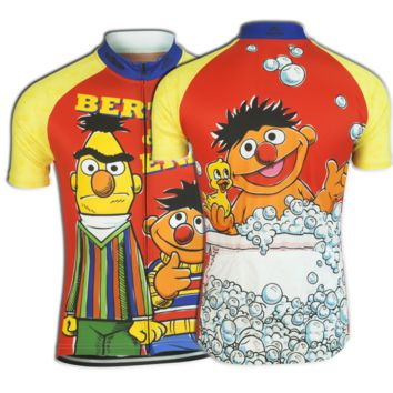 Brainstorm Gear Sesame Street Men's Bert & Ernie Cycling Jersey