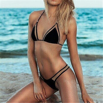Jaberai Bathing Suit 2017 Bikini Set Splicing Push Up Swimsuit Brazilian Swimwear Women Biquini Mesh Maillot de Bain