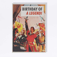 Legend Birthday Card - Urban Outfitters