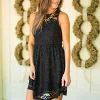 Divine Favor Dress, Black