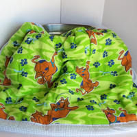 Scooby Doo Baby/Toddler Blanket by SnugableTouches on Etsy