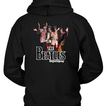 LMF1GW The Beatles Magical Mystery Hoodie Two Sided