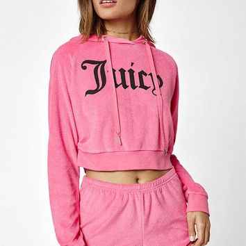 DCCKYB5 Juicy Couture x Cropped Hoodie