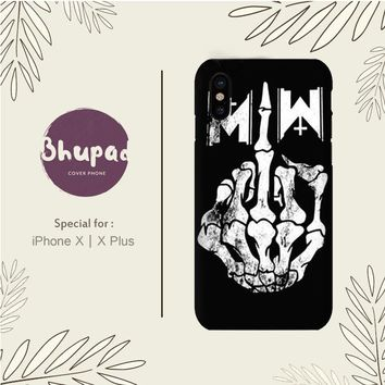 MOTIONLESS IN WHITE IPHONE X