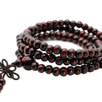 Luxury Sandalwood Buddhist Mala Bracelet