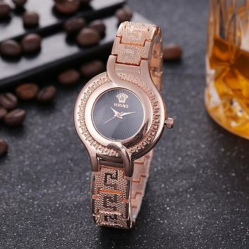 8DESS Versace Women Fashion Quartz Movement Wristwatch Watch