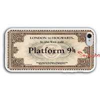 IPhone 5 case, Hogwarts Express, Hogwarts Express Train Ticket , iPhone 5 soft Case
