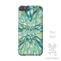 Peacock, boho, light blues, iPhone 6 Case, iPhone 6 plus case, artsy, funky, art, abstract, iPhone Cases, iPhone 5S case, Note 4 case