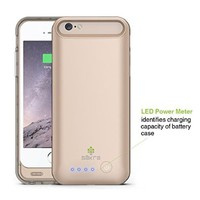 iPhone 6s 6 Battery Case GOLD Säkra ✓ MFi Apple Certified ✓ Doubles Battery Life of Your iPhone 6s 4.7 inches ✓ Impact Protection from Drops & Falls ✓ Rapid Charging Case w/ 3100mAh Capacity