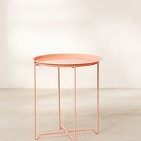 Metal Folding Side Table | Urban Outfitters