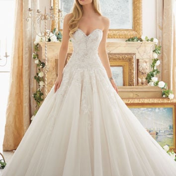 Dreamy Ball Gown Wedding Gown | Style 2877 | Morilee