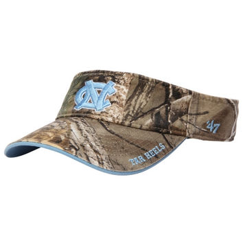 North Carolina Tar Heels '47 Brand Ice Adjustable Visor – Realtree Camo