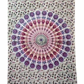 Mandala Tapestry Wall Hanging Tapestry Twin Home Dorm Beach Decor Yoga Room 5480