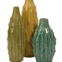 Soto Vases - Set of 3