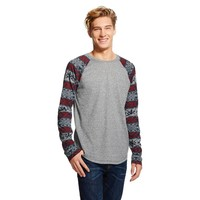 BKC Men's Long Sleeve T-Shirt Grey