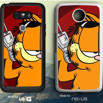 Garfield Phone LG G3 Case, LG G4 Case, LG G5 Case, Nexus 5 Case, Nexus 6 Case