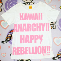 6%DOKIDOKI Boyfriend Happy Rebellion Tee by Harajuku Complex