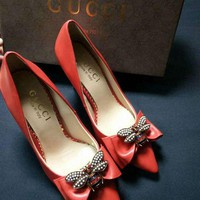 Fashion Gucci High heels cheap gucci shoes