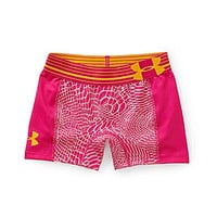 Under Armour 7-16 Alpha Printed Shorts - Tropic Pink/Tropic Pink/Caban