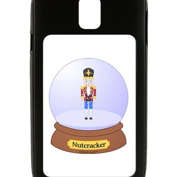 Nutcracker Snow Globe - Red Gold Black Galaxy Note 3 Case  by TooLoud