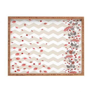 Monika Strigel Fall In Love Rectangular Tray