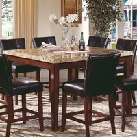 Steve Silver Montibello Counter Height Square Dining Table | www.hayneedle.com