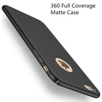 Fashion Hard Matte Case For iPhone 6 Cases 5s 5 SE 6s 6 Plus for iPhone 7 Case Plus 360 Full Cover Plastic Phone Cover P35
