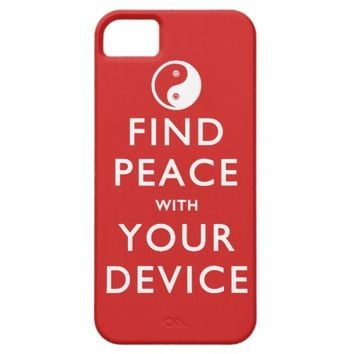 Find Peace with your Device